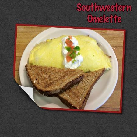 Piggy's Restaurant: Southwestern Omelette Special