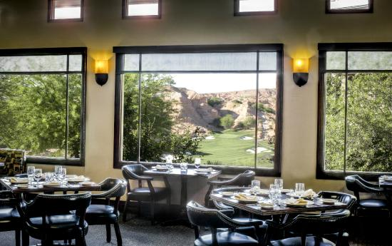 Terrace Restaurant At Wolf Creek With View Of The Golf Course