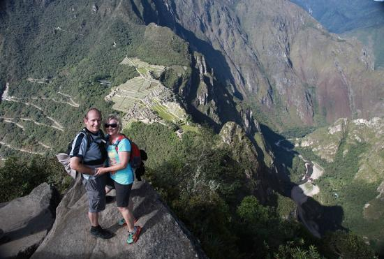 Destination Peru Tours: View of Machupicchu from Huaynapicchu