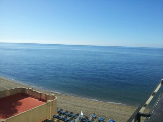 Apartamentos Mediterraneo : Vue depuis la chambre