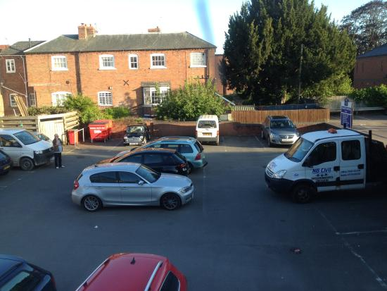 Car Park View Picture Of Talbot Hotel Leominster Tripadvisor
