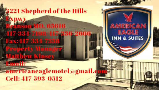 American Eagle Inn & Suites: Our Contact Information