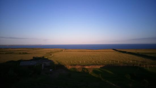 The Penallick B & B: View from room 8