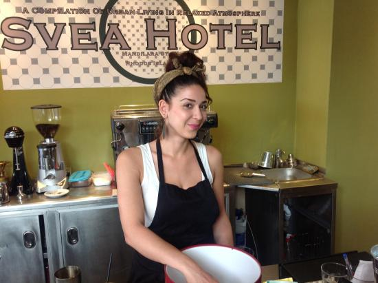 SVEA Hotel : The lovely Chrysi