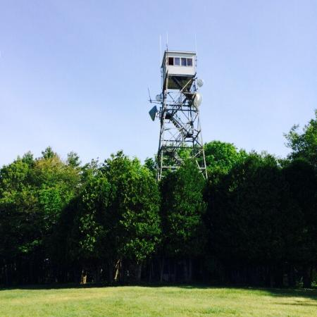 Ward Reservation: Solstice and the fire tower