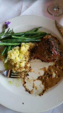 Ledford House: Steak au Poivre