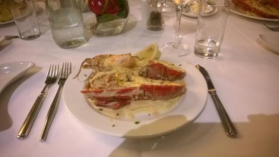 The Lobster Pot : Kreeft thermidor