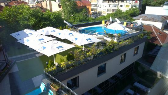 Small Outdoor Pool Picture Of Cosmopolitan Hotel Ruse Tripadvisor