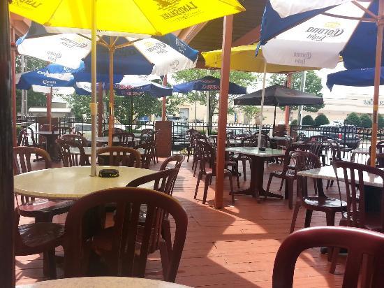 Best Deck In Sandy Springs Review Of El Azteca Mexican Restaurant Ga Tripadvisor