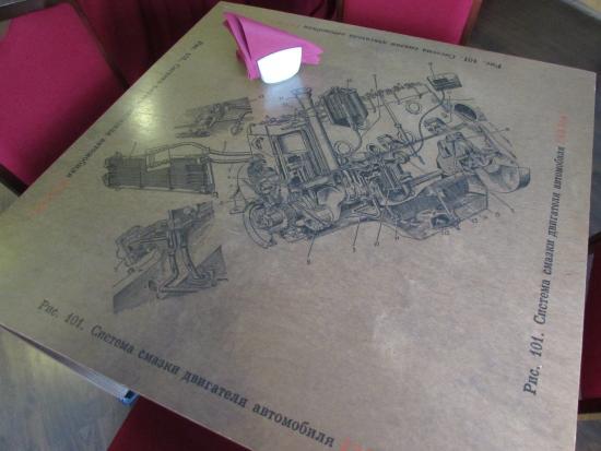 ABC Hotel: Столик в ресторане