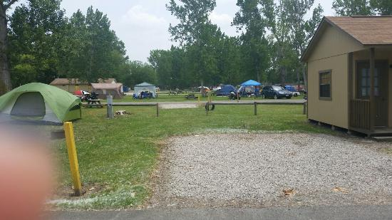 Sandusky KOA campground: Bike Week camping at KOA