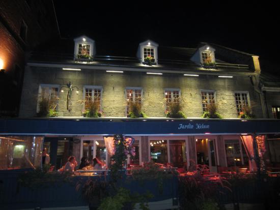 Picture of jardin nelson montreal tripadvisor for Restaurant jardin montreal