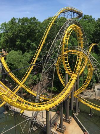 Park Entrance Through England Picture Of Busch Gardens