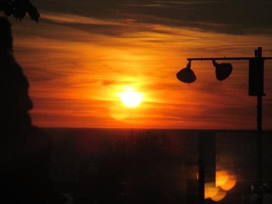 Palette Bistro : beautiful sunset