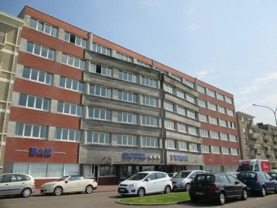 vue de la chambre c t plage picture of hotel de l 39 europe dieppe tripadvisor