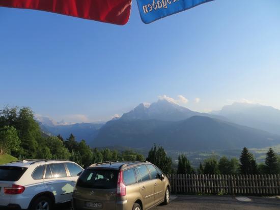 Alpengasthof Hochlenzer Restaurant: Blick