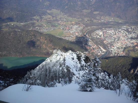 alps view picture of predigtstuhlbahn bad reichenhall tripadvisor. Black Bedroom Furniture Sets. Home Design Ideas