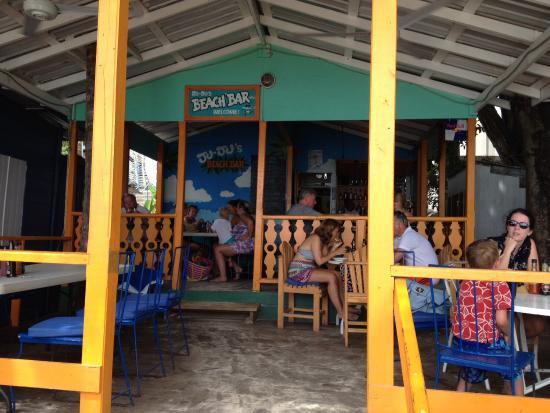 Holetown, Barbados: Pic of bar