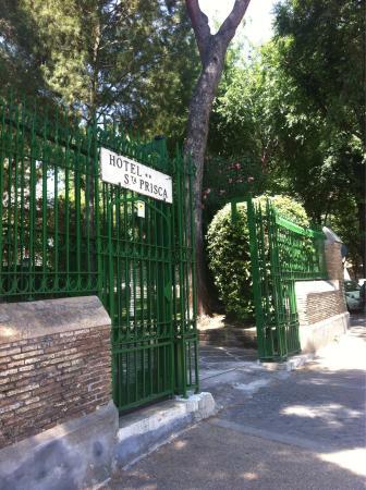 Hotel Santa Prisca: Entrata