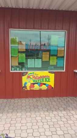 Ebensburg, Pensilvanya: Also serving Philadelphia Water Ice!