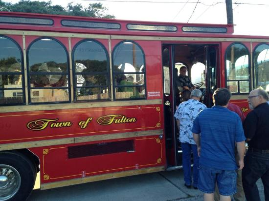 Rockport, TX: Take a tour of Fulton. Visit local businesses and attractions on the Fulton Trolley