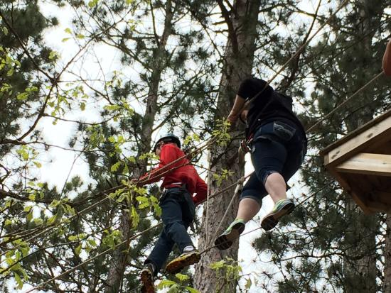 Character Challenge Course: Walking in the tree tops