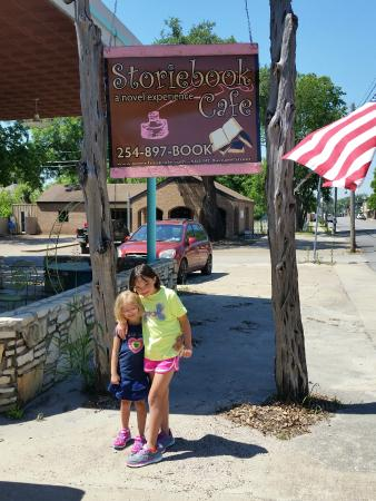 Storiebook Cafe: Their favorite place to eat in the world!