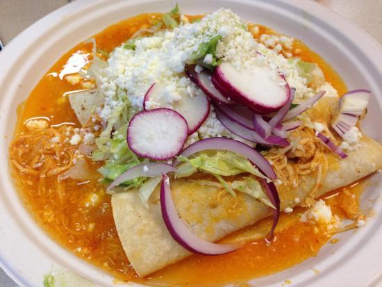 Taco Trio: Enchilada Plate