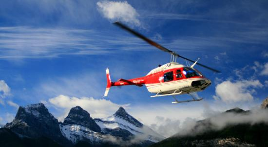 Helicopter Flights  Picture Of Banff Adventures Banff  TripAdvisor