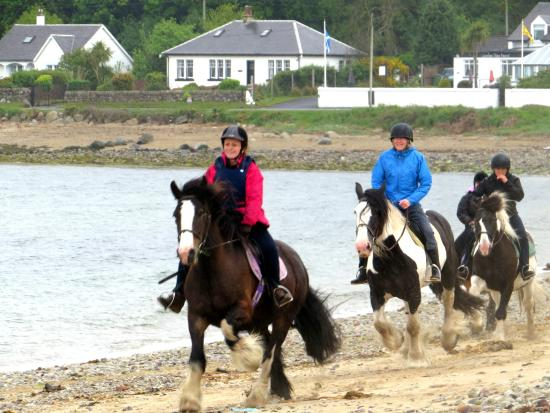Sannox, UK: Lifelong ambition to canter on the beach achieved!