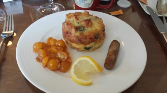 Liberty Hill Inn: scrumptious strata breakfast