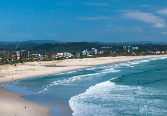 Coolangatta, Australie : Greenmount beach views