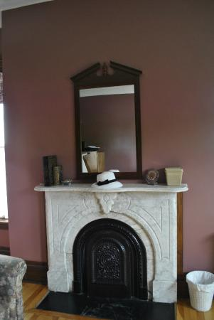 Pictou, Canada: Fireplace