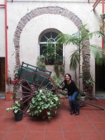 Hotel Parada: Decoração do vão central do Hotel