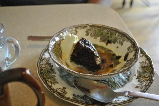 Mrs MacGregor's Shortbreads: Amazing Sticky Toffee Pudding With Whipped Cream!!
