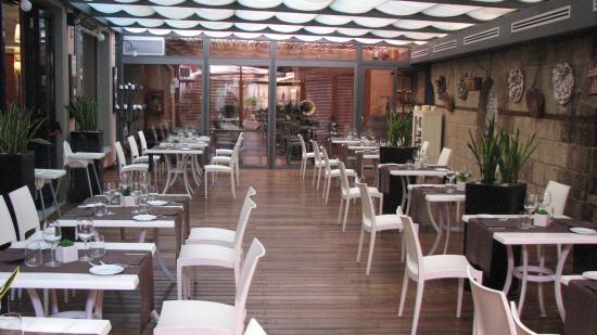 Grand Hotel Tiberio: Hotel dining area