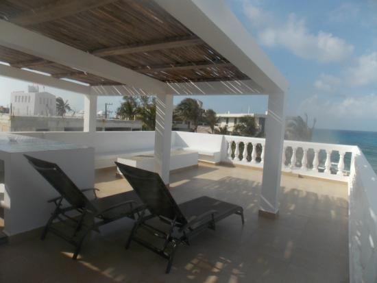 Casa el Pio: Roof top terrace
