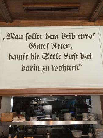 Detmolder Hof: One should offer the body something nice, so that the soul as room to live within.   Dining room