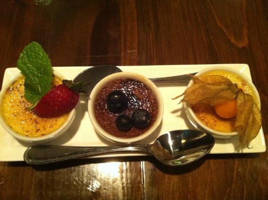Le Grill Saint George's : Creme brulee trio