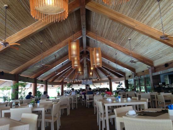Bluewater Panglao Beach Resort: Dining Hall