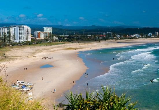 Coolangatta, Australia: Views to the North