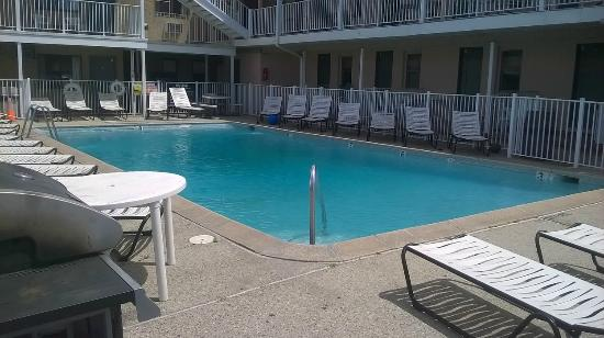 Belmont Motel: Large Pool