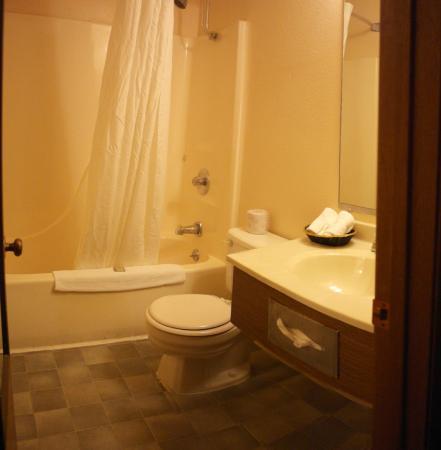 Super 8 Poplar Bluff Missouri: bathroom