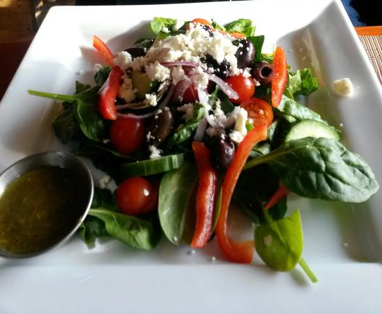 Grandview Motel: Greek Salad