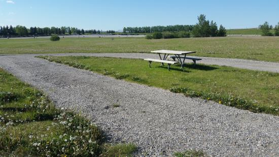 Calaway Park RV Park and Campground : Full service pull through site