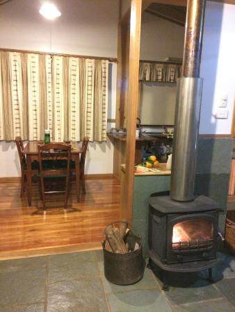 Sharlynn B&B : Fire place