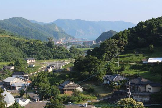 Shimoshima: 大江天主堂より遠望