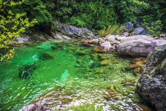 Emerald Valley: Enjoy the green pool, lovely sight