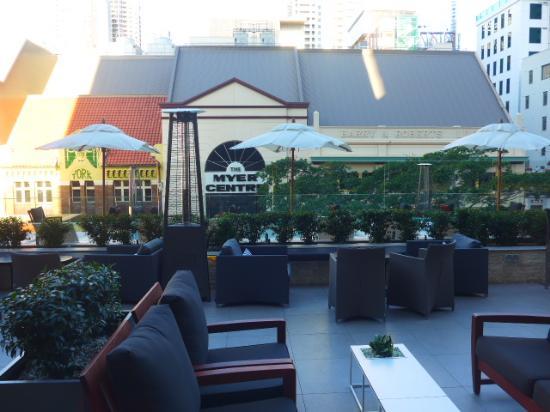 Level 4 Outdoor Lounge Area Picture Of NEXT Hotel Brisbane Brisbane Trip