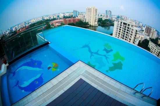 Infinity Saluted Swimming Pool Photo De Six Seasons Hotel Dhaka City Tripadvisor